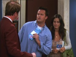 Did chandler their where honeymoon monica go and for Things You