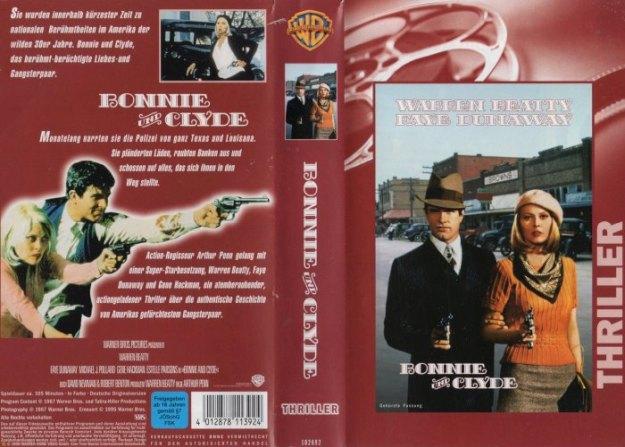 Bonnie und Clyde - Cover der FSK 16-VHS von Warner