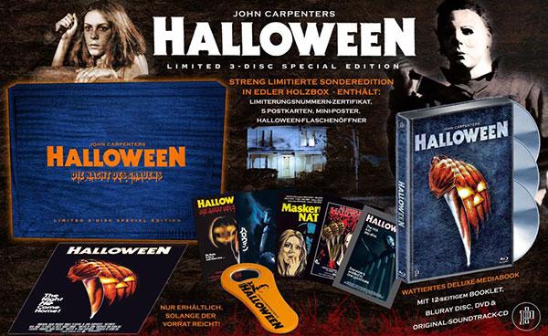 Halloween Holzbox