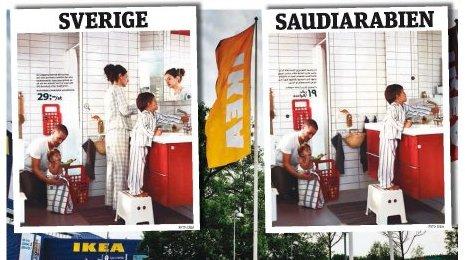 ikea katalog entfernt in saudi arabien frauen aus den bilder. Black Bedroom Furniture Sets. Home Design Ideas