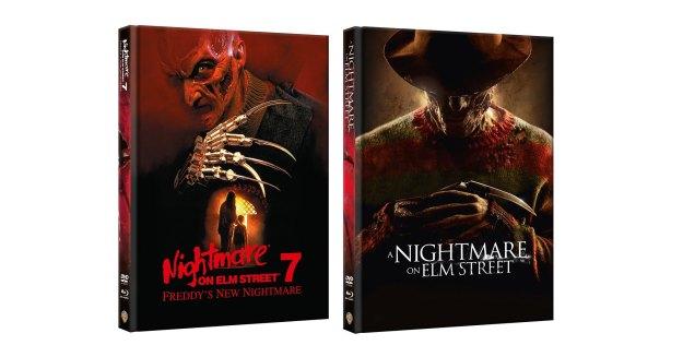 Nightmare Teil 7 & Remake - Uncut-Mediabooks von Alphamovies