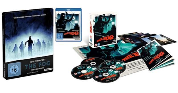 The Fog - 4K-Blu-ray im Steelbook oder Digipak
