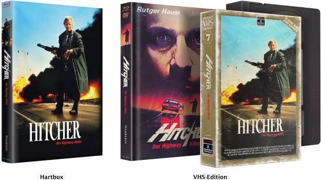 Hitcher - Uncut von Nameless: Hartbox & VHS-Edition