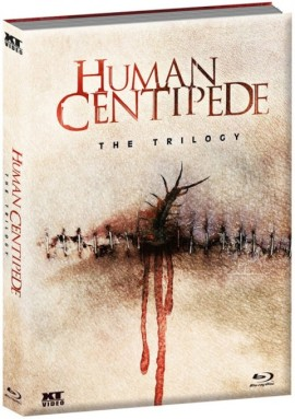Human Centipede - The Trilogy Uncut Mediabook von XT Video