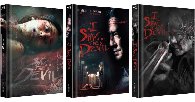 I Saw the Devil - Nameless Media Uncut Mediabooks - Cover A-B-C