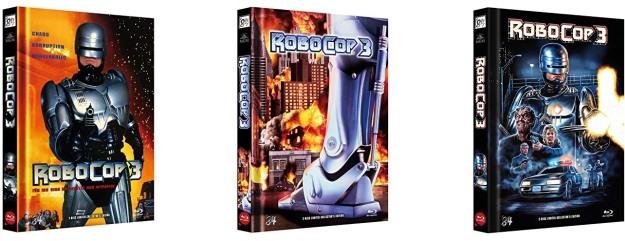 Robocop 3 - Vier Mediabooks von '84 Entertainment