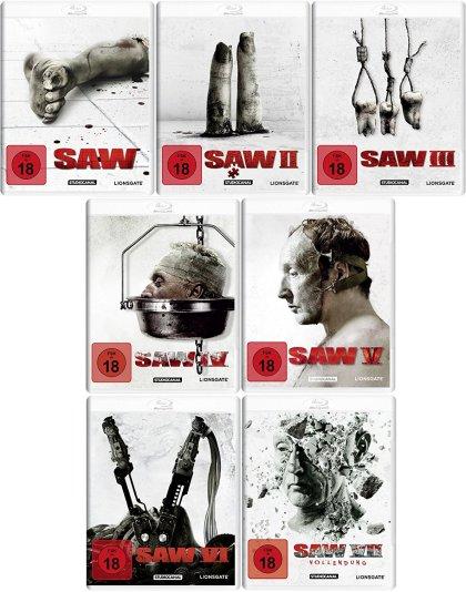 Saw 1-7 als White Edition im Handel (Schnittberichte com)
