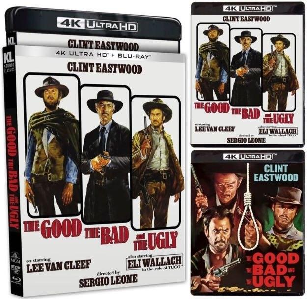 The Good, the Bad and the Ugly 4K Blu-ray UHD Kino Lorber