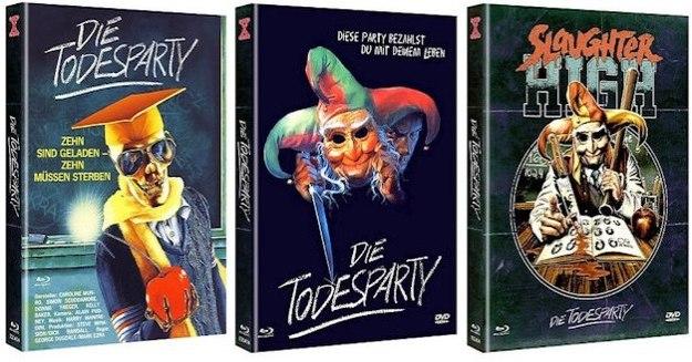 Die Todesparty: Ungekürzt auf DVD (Schnittberichte.com)