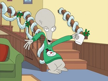 22 sec - American Dad Christmas Episode