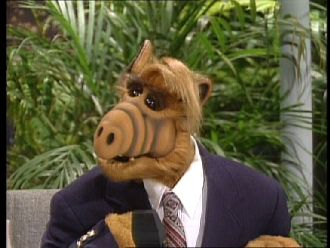 alf and willie are standing at an old womans door at halloween alf hello old woman willie were terrible sorry to bother you so late - Alf Halloween Episode