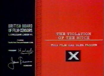Blood Hunger: The Films of José Larraz Coming of Sin uncut Blu-ray