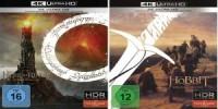 Der Herr der Ringe und Der Hobbit erscheinen als 4K-UHDs