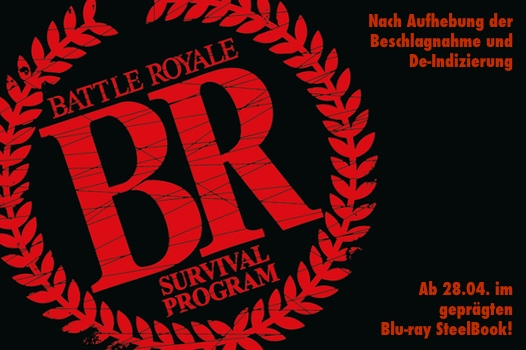 Battle Royale - ab 28.04 im geprägten Blu-ray Steelbook