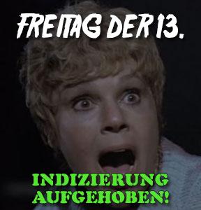 Freitag der 13. (1980) ist vom Index