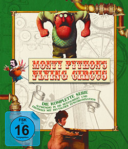 Monty Pythons Flying Circus Blu-ray Cover