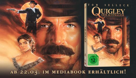 Quigley - Der Australier - Ab 22.03. im Mediabook erhältlich!