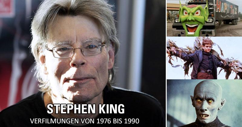 Stephen King: Verfilmungen von 1976 bis 1990