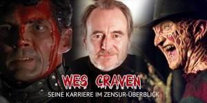Wes Craven, der Schöpfer von NIGHTMARE ON ELM STREET, SCREAM und vielem mehr. In unserem Special blicken wir zurück auf den einflussreichen Horror-Altmeister und seinen Kampf gegen die Zensur.