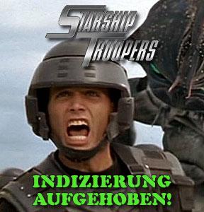 Starship Troopers nicht mehr indiziert