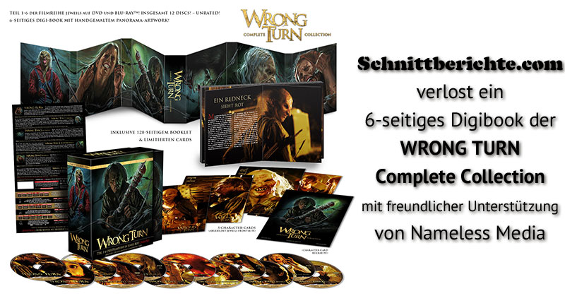 Wrong Turn Complete Collection - Digibook