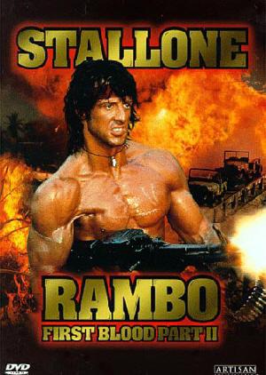 rambo2 us dvd Rambo 2 Türkçe Dublaj Film izle